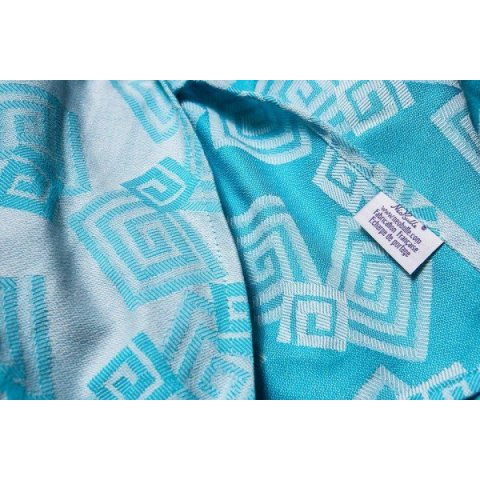 Neobulle Labyrinthe gris turquoise 4,6m